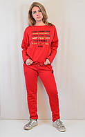 Теплый женский и подростковый спортивный костюм от Megi Турция