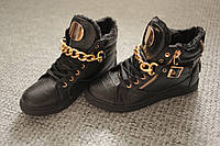 Женские ботинки Dior золото Black Eвропа 36-41