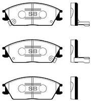 Колодки тормозные передние Accent 00-/Elantra1.5/Getz SP1047