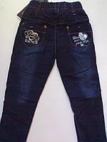 Утепленные Джинсовые штаны для девочек