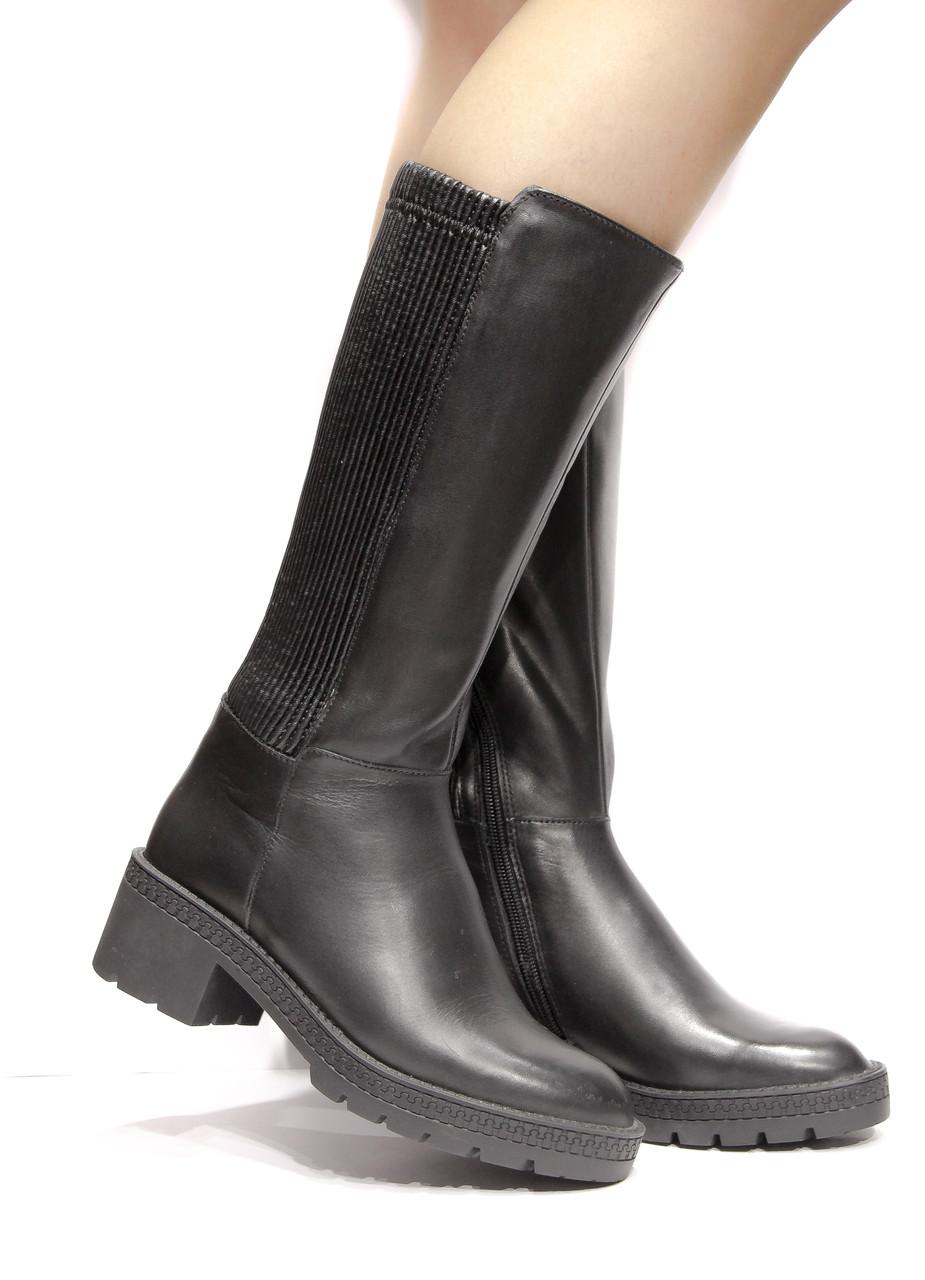 8ca3d70d73b6 Шикарные кожаные зимние сапоги Respect, Оригинал