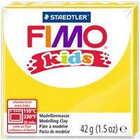 Пластика Fimo Kids ЖЕЛТАЯ 42 гр, FIMO 8030-1