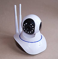 Беспроводная поворотная Wi Fi камера X8100 с записью на microSD