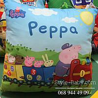 Детская подушка с героями мультфильмов в ассортименте