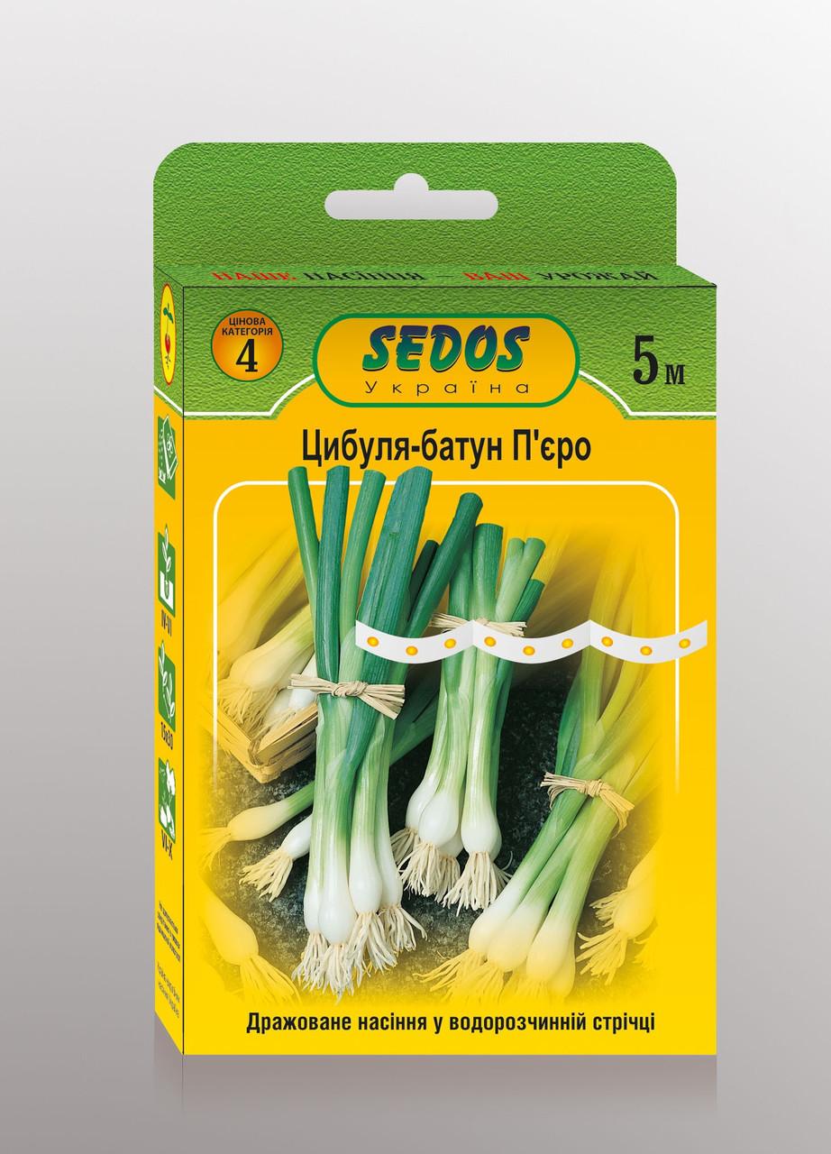 Семена на ленте лук-батун Пьеро 5м ТМ SEDOS