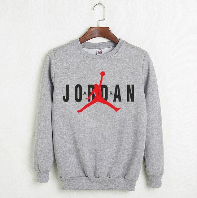 """Мужской СВИТШОТ Jordan """"Gray-Black"""" ( в стиле Джордан )"""