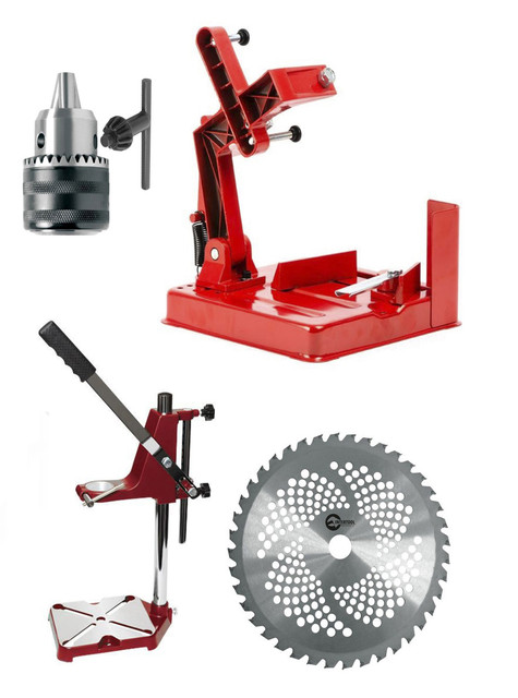 Дополнительные приспособления и принадлежности к электро и бензоинструменту