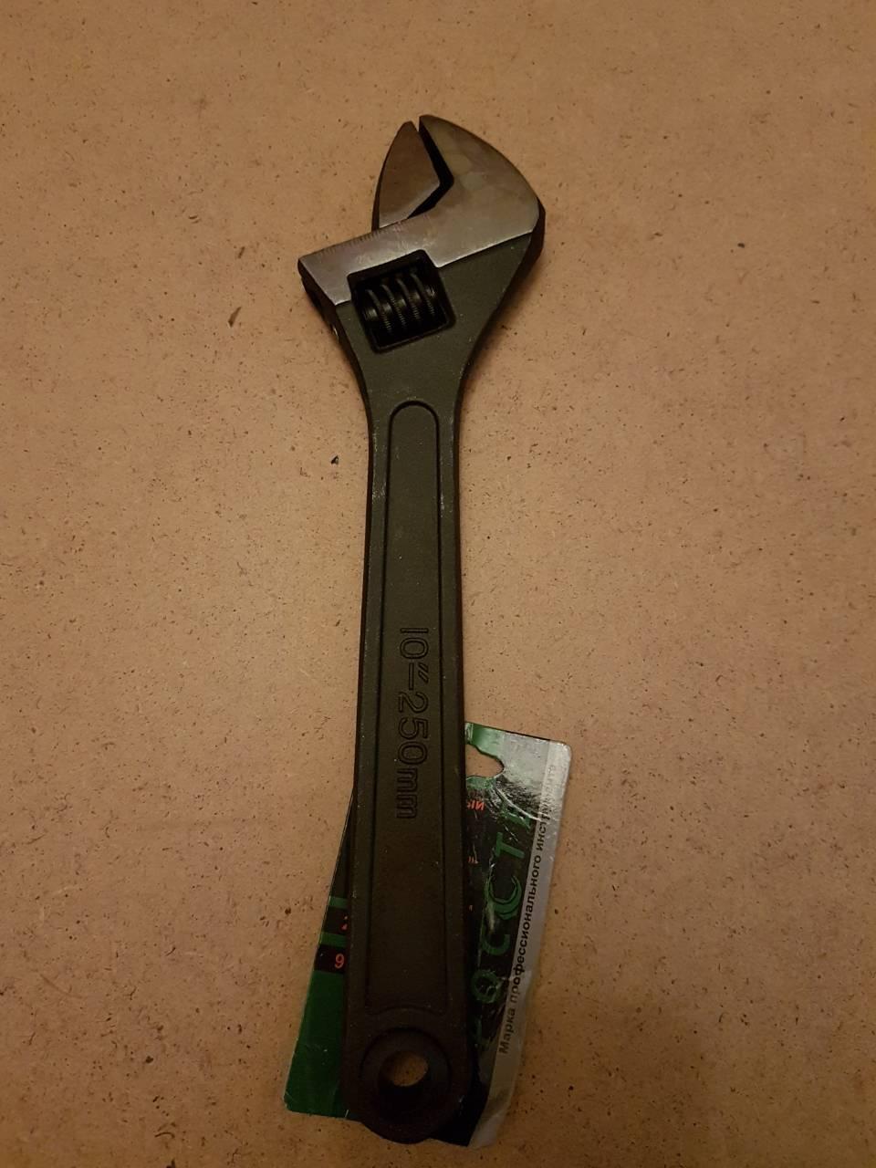 """Ключ гаечный разводной (фосфат) 10"""" 250mm"""