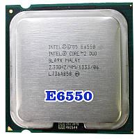 МОЩНЫЙ ПРОЦЕССОР на 2 ЯДРА S 775 Intel Core2DUO E6550 (2 ЯДРА по 2,33Ghz каждое, FSB 1333 s775 )