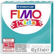 Пластика Fimo Kids БИРЮЗОВАЯ 42 гр, FIMO 8030-39