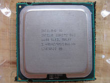 ПРОЦЕССОР на 2 ЯДРА для СТАРЫХ МАТ.ПЛАТ S 775 Intel Core2DUO E6600 (2 ЯДРА по 2,4Ghz каждое