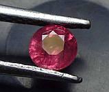 Рубин натуральный природный 5 мм 0,5 Кт , фото 2