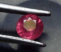Рубин натуральный природный 3 мм 0,11 Кт
