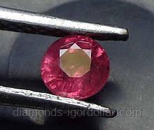 Рубин натуральный природный 10шт по 3 мм 0,11 Кт