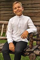 Вышитая рубашка для мальчика ДМ01/1-211