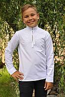 Вышитая рубашка для мальчика ДМ01-111