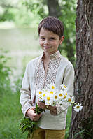Вышитая рубашка для мальчика ДМ16-246