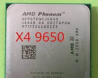 МОЩНЫЙ Процессор AMD SAM2, Am2+, AM3 PHENOM X4 9650 - 4 ЯДРА  ( 4 по 2.30 Ghz каждое ) am3, SAM2+