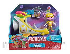 Игрушки Флугалс Фло на космической ракете Floogals