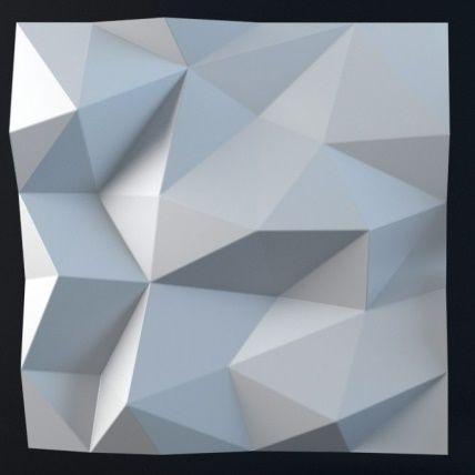 """Форма для изготовления 3d панелей """"Лед"""" 50*50 (форма для 3д панелей из абс пластика)"""