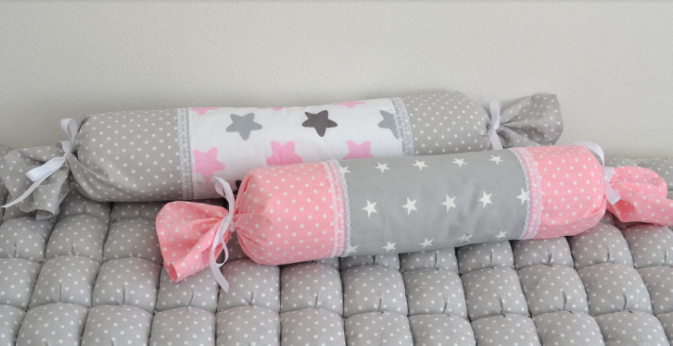 Бортик  в кроватку   - конфетка