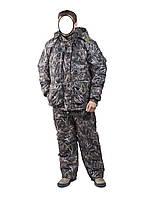 Зимний костюм для охоты и рыбалки Камыш коричневый, температура комфорта -30