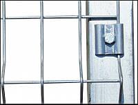 Оцинкованный столб 2,5м для забора ограждения