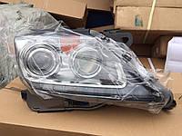 Передние рестайлинговые фары Lexus LX 570 2013-2015 без AFS (левая+правая)