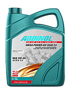 Синтетическое моторное масло Addinol MV0538 C4 Mega Power 5w-30
