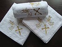 Крыжма для крещения махра 100х100 см, фото 1