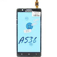 Сенсорный экран Touch screen Lenovo A536 black