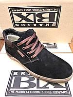 Зимние мужские ботинки Braxton замш, фото 1