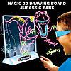 3D доска для рисования (очки, трафареты, маркеры) 34,0*30,0*4,5 см, фото 5