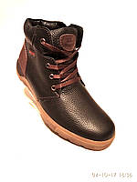Зимние мужские ботинки замша Braxton новый