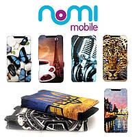 Чехол-книжка Ultra-Book Print для Nomi i508 Energie