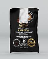 Съедобный лубрикант со вкусом эспрессо System JO Gelato Hazelnut Espresso, 3 мл.
