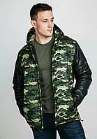 Мужская куртка демисезон милитари