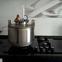 Автоклав бытовой  16 пол.литр., из нержавеющей стали для домашнего консервирования, фото 2