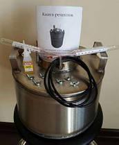Автоклав бытовой  8 пол.литр., из нержавеющей стали для домашнего консервирования, фото 3