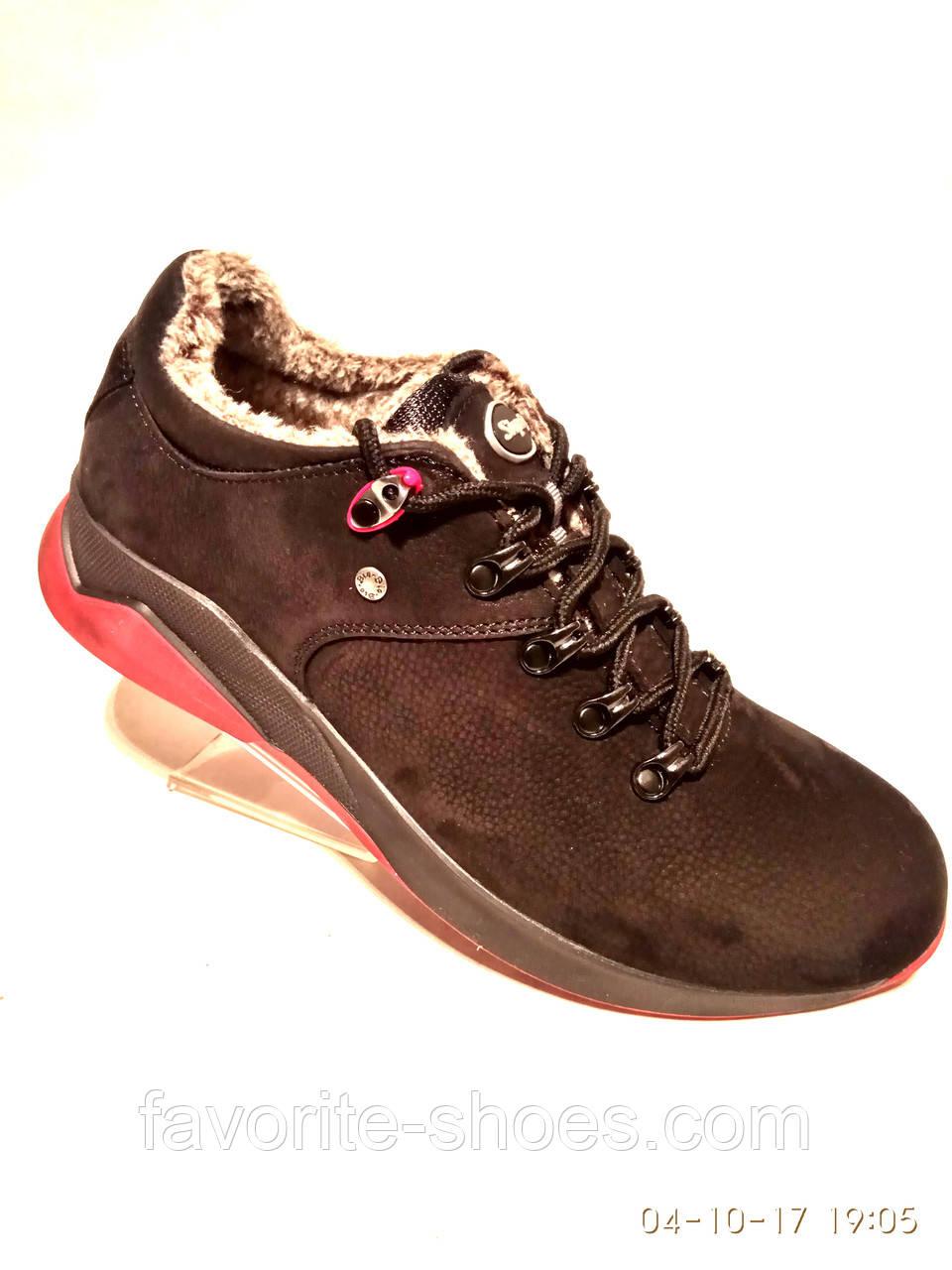 Зимние мужские кожаные кроссовки Step Wey