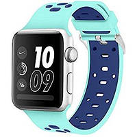 Ремень Nike Sport Band for Apple Watch 42mm (Mint /Blue)
