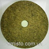 Круг войлочный c отверстием 180 х 22 х 32 грубошерстный мягкий полировальный на станок точильный, шлифовальный