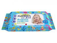 """Влажные салфетки для детей """"Florika"""" 15 штук"""