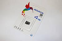 Карта памяти A-DATA MicroSDHC 4Gb class 4
