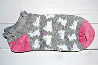 Женские носочки низкие хлопковые размер 36-40 с доставкой по Украине