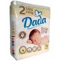 Подгузники Dada №2 mini 3-6kg 74шт.