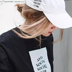 Футболка с принтом Anti Social social club унисекс Mix of New