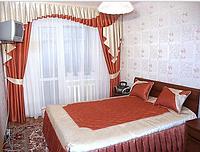 Ламбрекен бантовый в спальню
