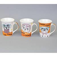 """Чашка в подарочной упаковке """"Собака"""". Размер - 10х9 см."""