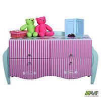 Комод детский Дизайн Дисней Русалочка в комнату для девочки ТМ AMF 149016